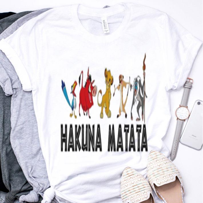 Hakuna Matata The Lion King shirt