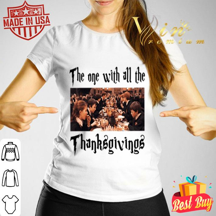 Harry Potter The One With All The Thanksgivings shirt