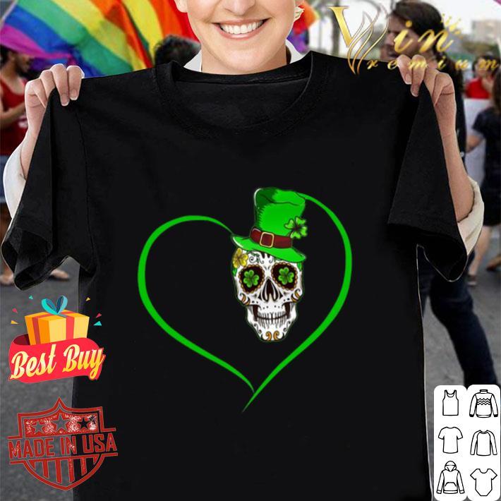 Heart Happy St Patrick's Day Love Sugar Skull.png