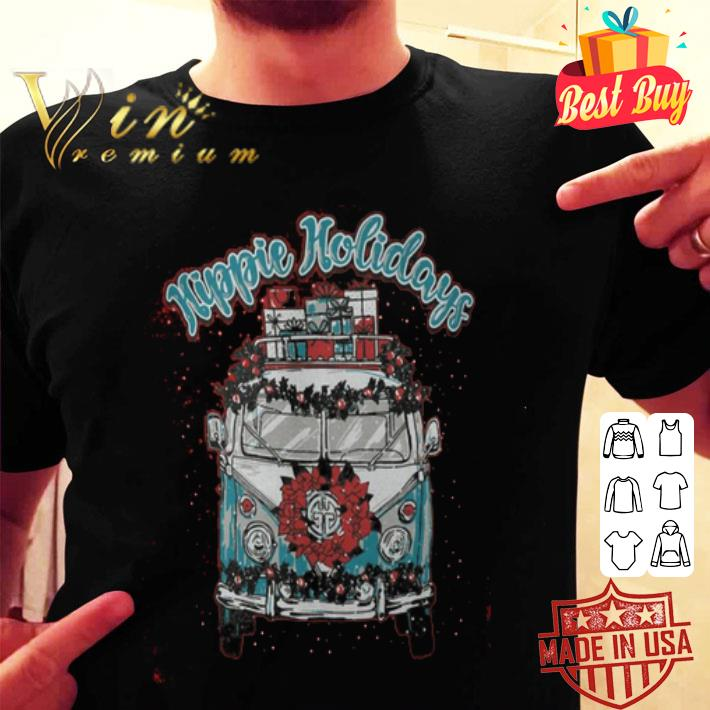 Hippie Holidays Christmas shirt