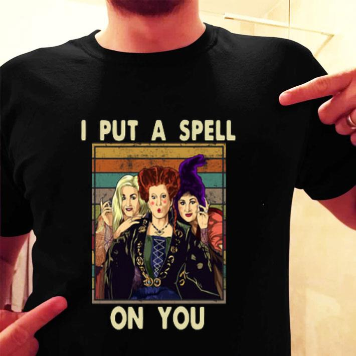 Hocus Pocus I put a spell on you vintage shirt