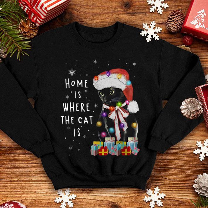 Home Is Where The Cat Is Salem Saberhagen Christmas shirt