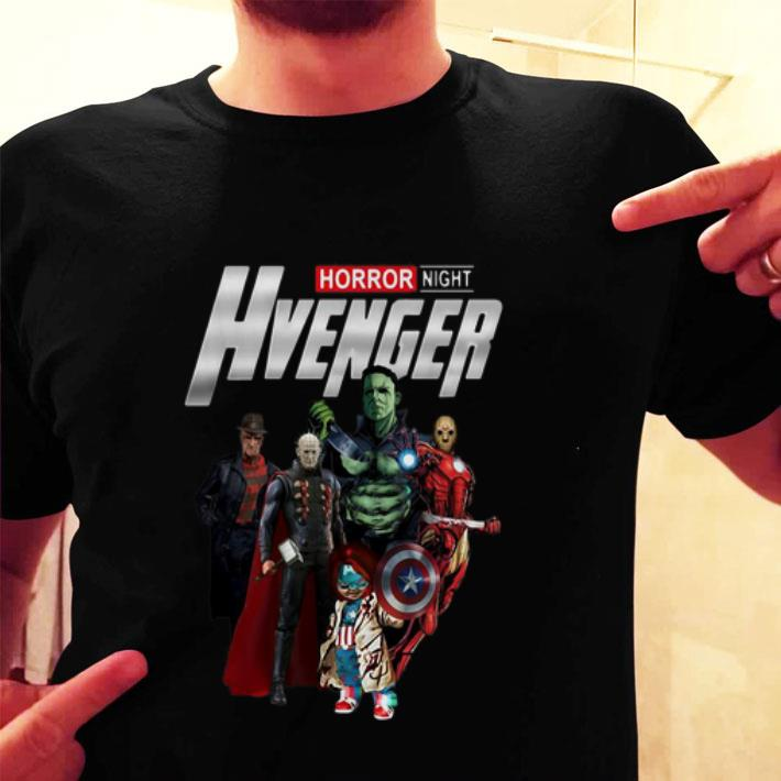 Horror Night Hvenger Avengers shirt