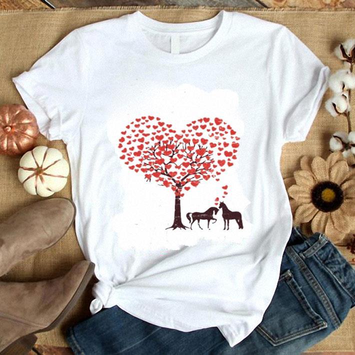 Horses Love Happy Valentine's Day shirt