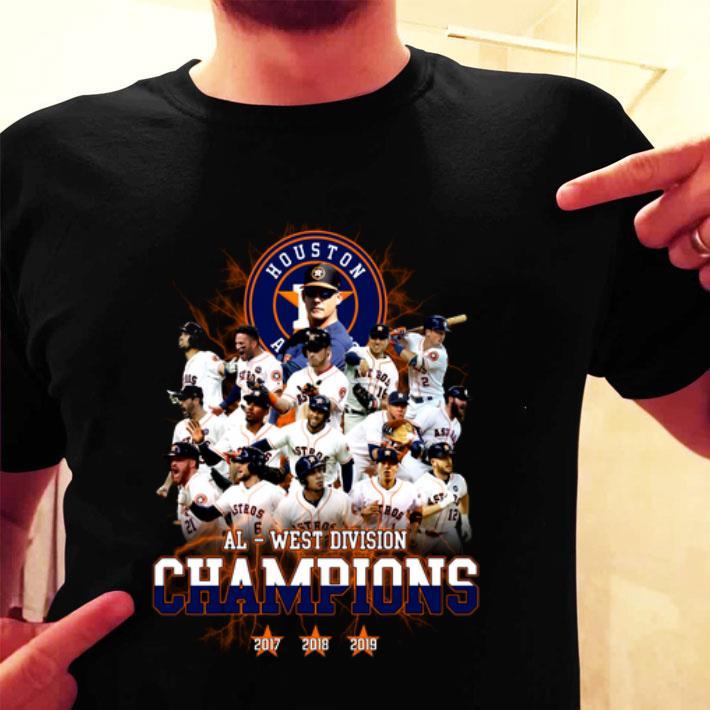 Houston Astros Al West Division Champions shirt