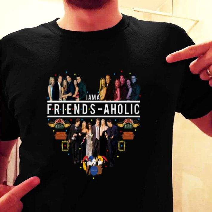 I am a Friends aholic Central Perk shirt