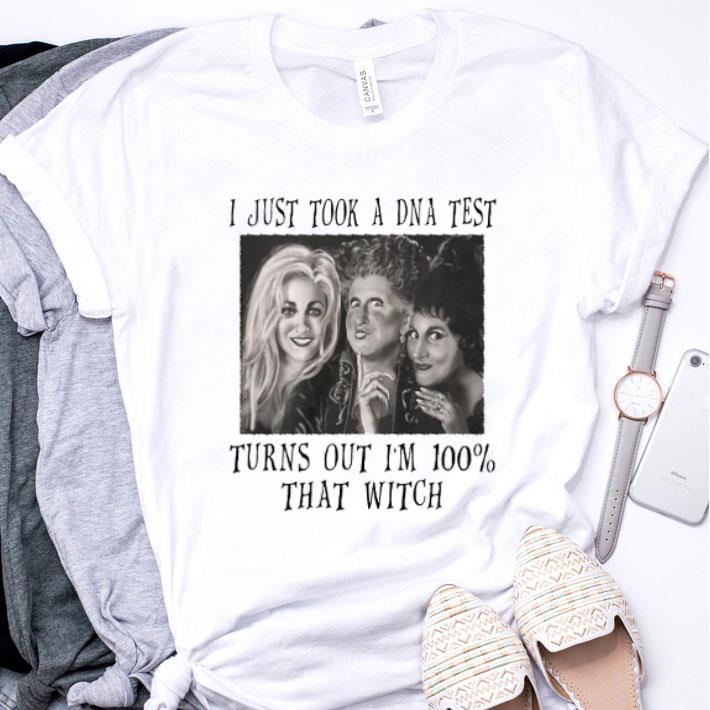 I just took a DNA test turns out i'm 100 that witch Hocus Pocus shirt