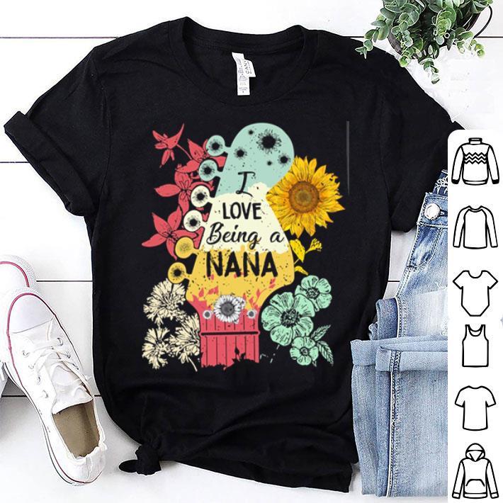 I love being a NaNa sunflower shirt