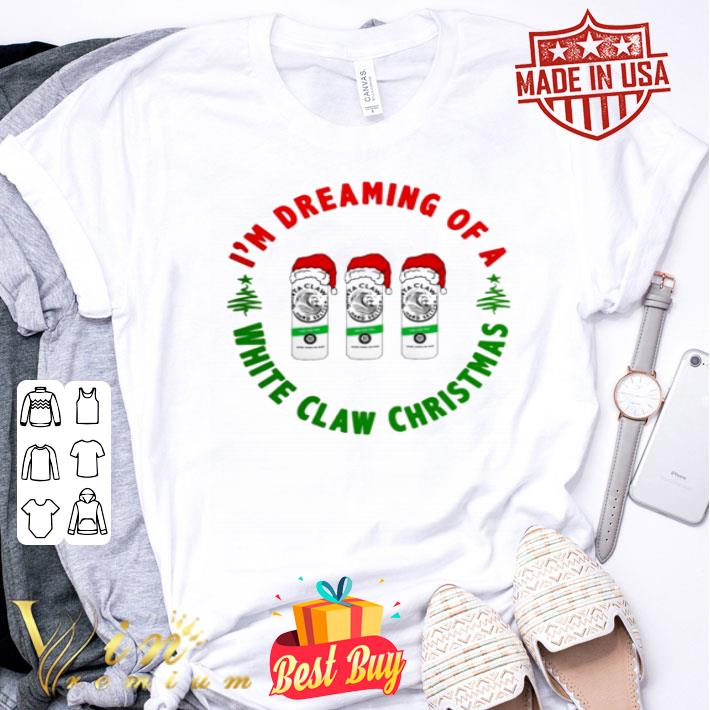 I'm dreaming of a Santa White Claw Hard Seltzer Christmas shirt