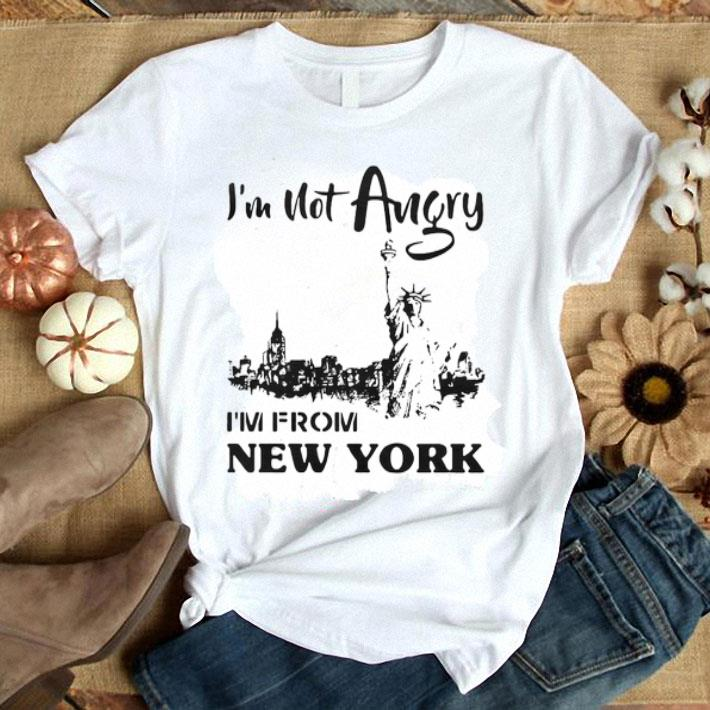 I'm not angry i'm from New York Liberty Enlightening The World shirt