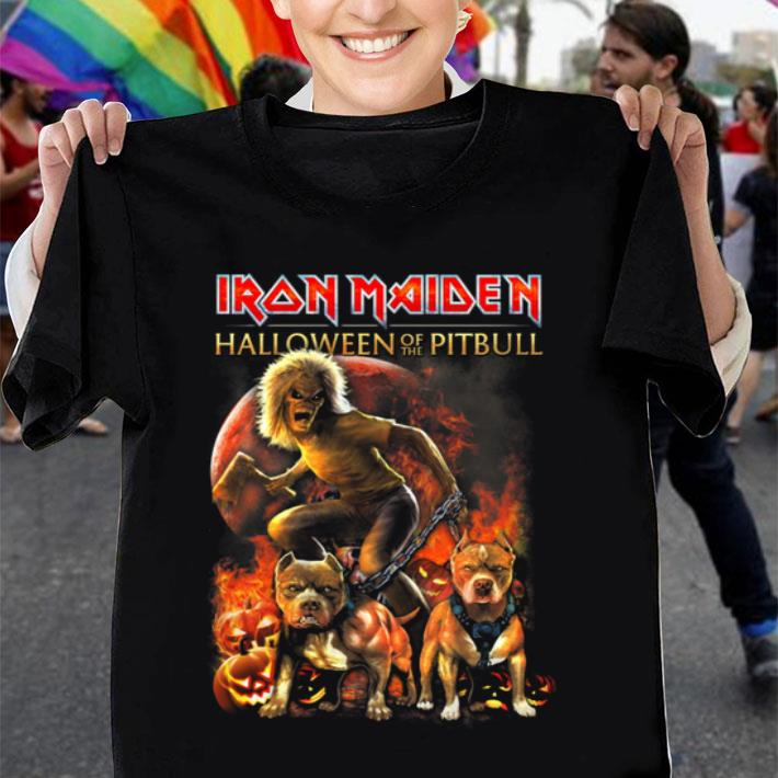 Iron Maiden Halloween Of The Pitbull shirt