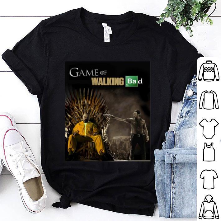 Iron Throne Game Of Walking Bad Mashup shirt