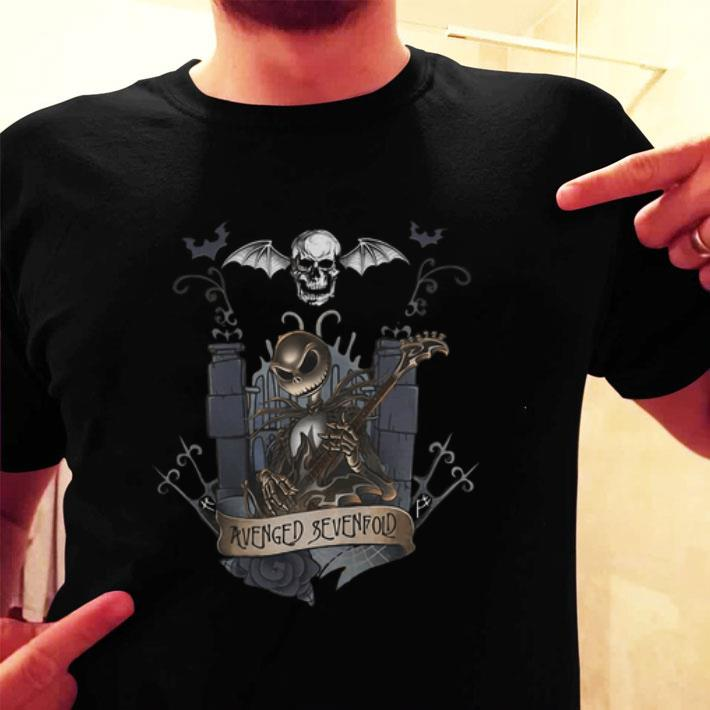 Jack Skellington Avenged Sevenfold Halloween shirt