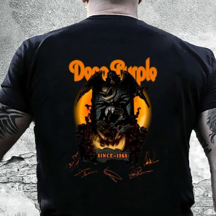 Jack Skellington Deep Purple Pumpkin Since 1968 Signatures shirt