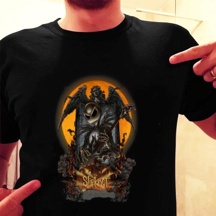 Jack Skellington Slipknot Halloween shirt