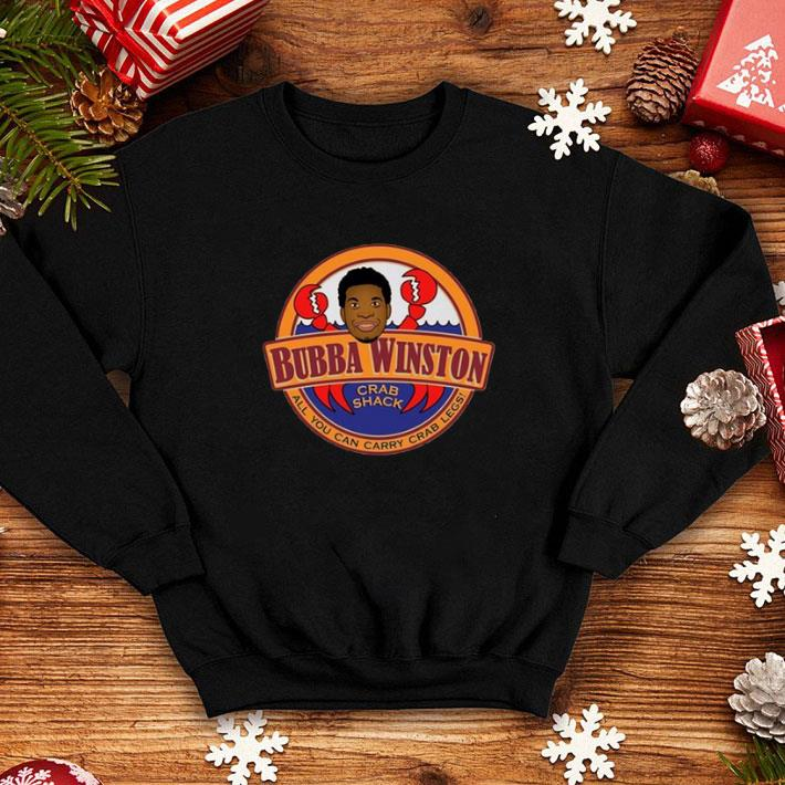 Jameis Winston Bubba Winston crab shack all you can carry crab legs shirt