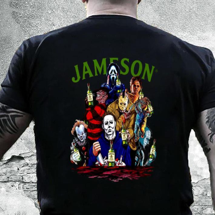 Jameson Horror Movie Creepy shirt