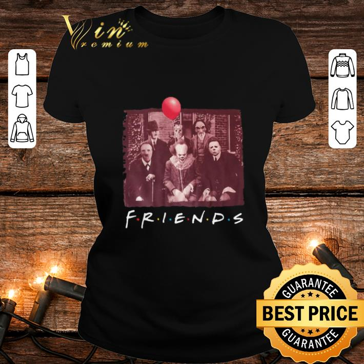 Jason Voorhees Friends TV Show Horror movie characters halloween shirt