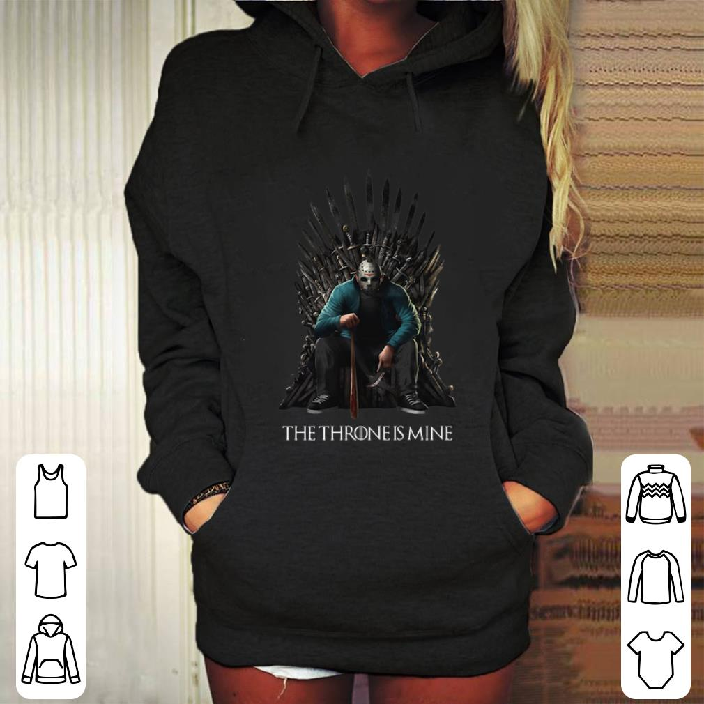 Jason Voorhees The Throne is mine Game Of Thrones shirt