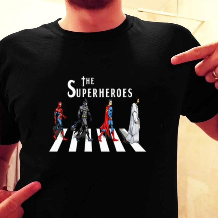 Jesus The Super Heroes Abbey Road shirt