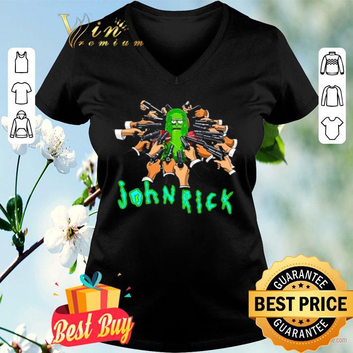 John Wick Rick and Morty John Rick shirt