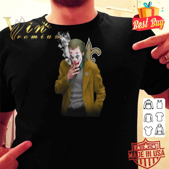 Joker 2019 New Orleans Saints Logo shirt