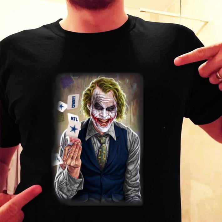 Joker Heath Ledger Cowboys NFL Cards shirt