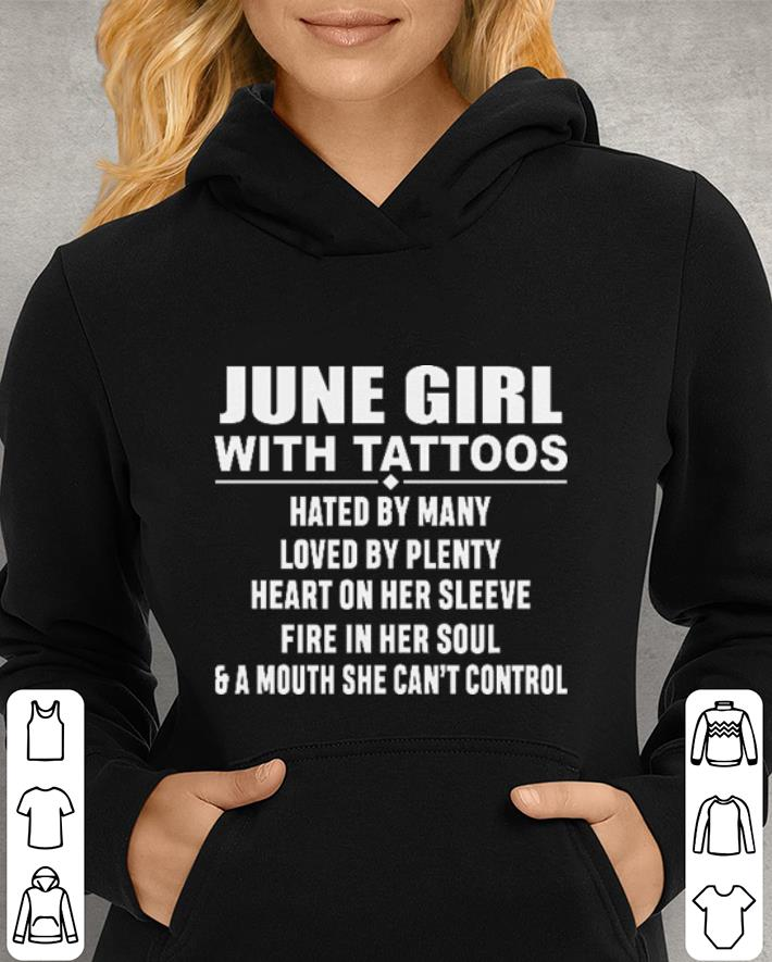 June girl with tattoos hated by many loved by plenty heart on her sleeve shirt 3