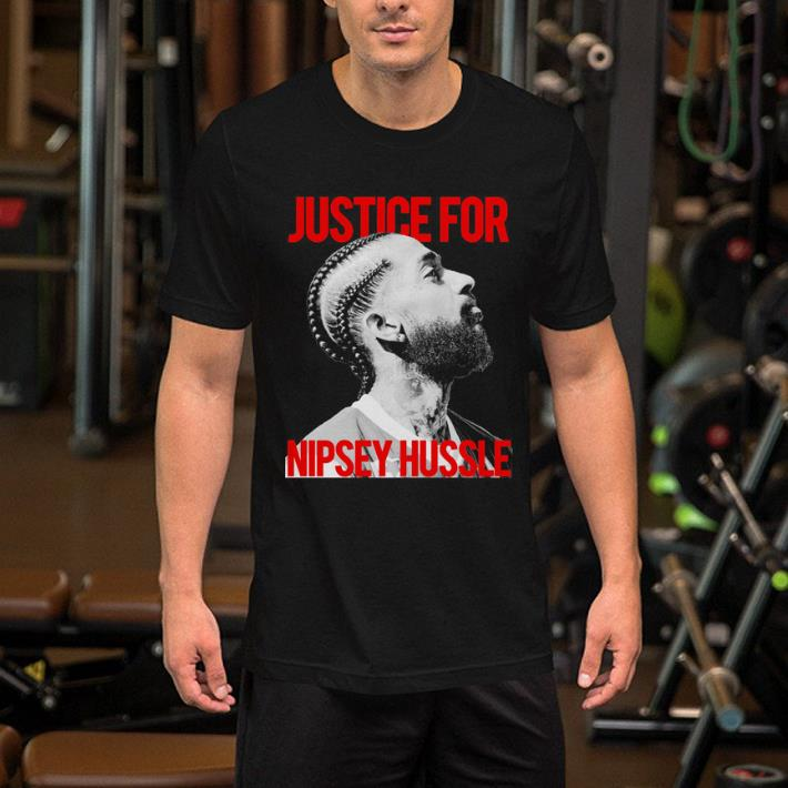 Justice for Nipsey Hussle shirt 2