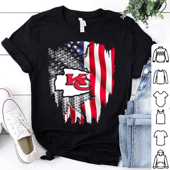 Kansas City Chiefs American flag shirt