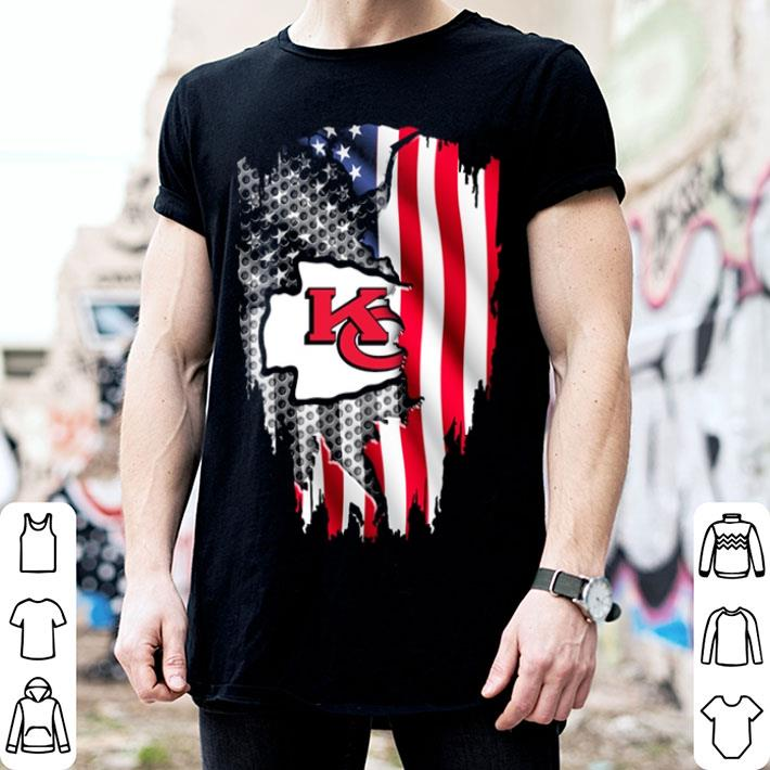 Kansas City Chiefs American flag shirt