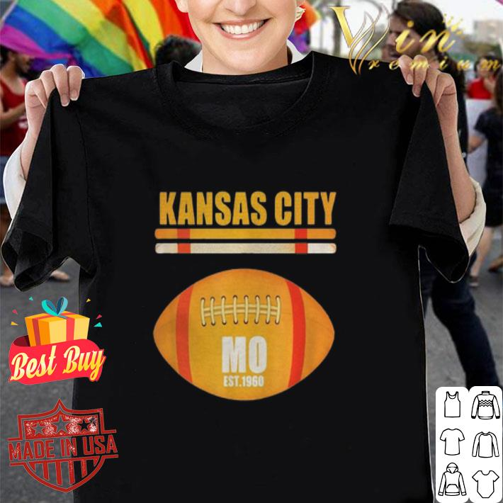 Kansas City Football Fan Missouri KC Great shirt