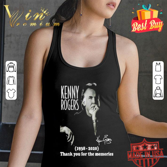 Kenny Rogers 1938-2020 thank you for the memories shirt