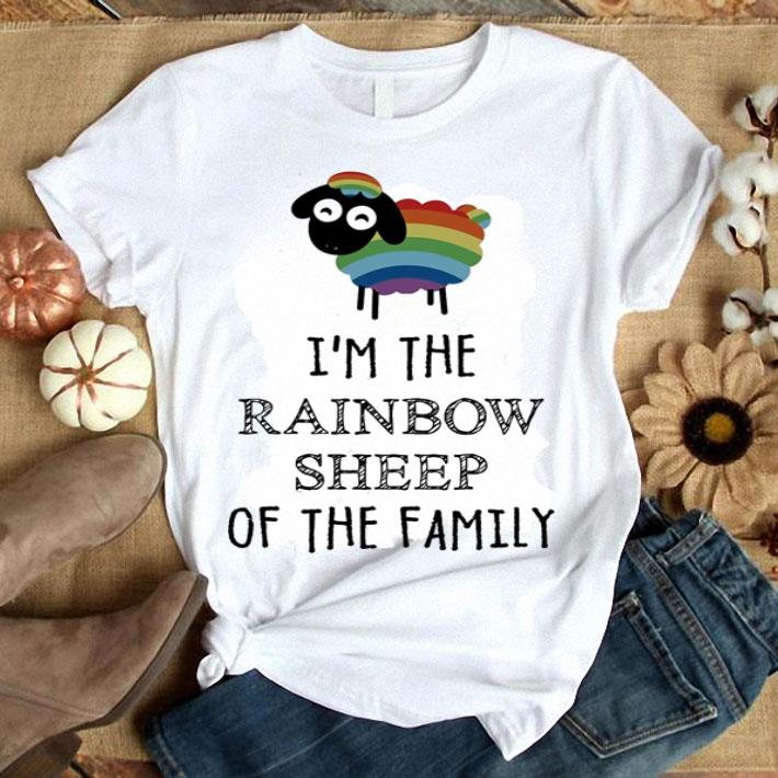 LGBT I'm the Rainbow Sheep of the family shirt