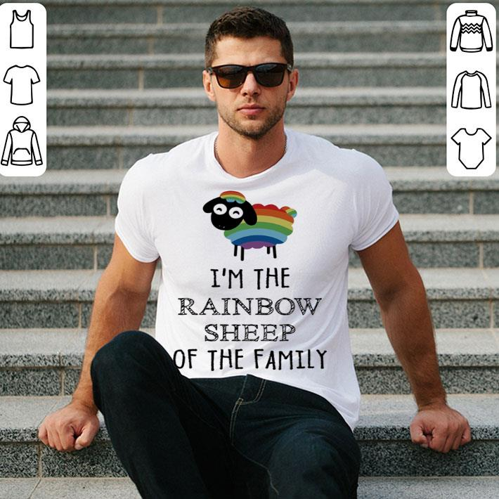LGBT I'm the Rainbow Sheep of the family shirt