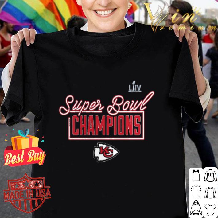 LIV Super Bowl Champs Kansas City Chiefs Logo shirt