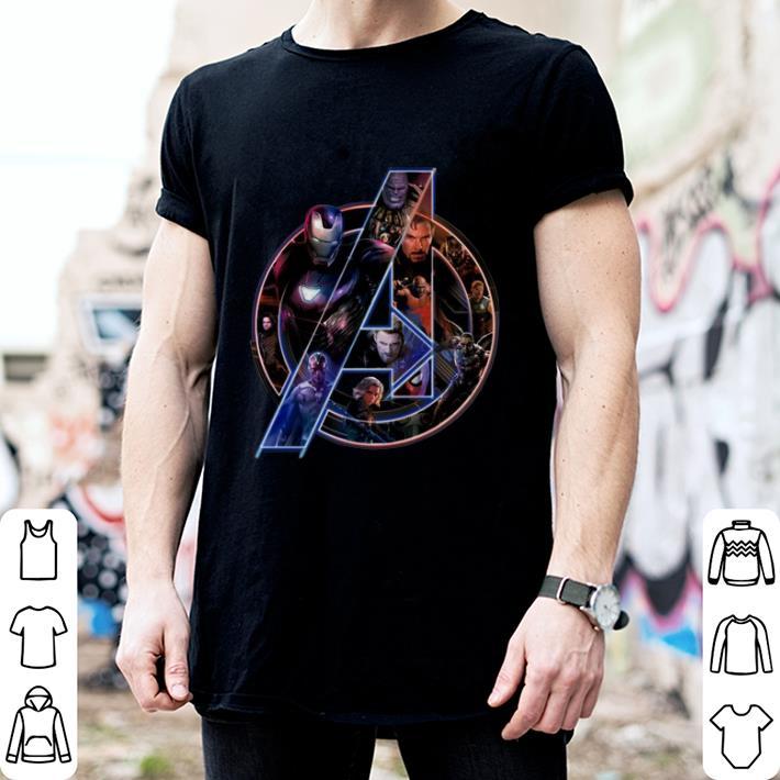 Logo Marvel Avengers Infinity War shirt