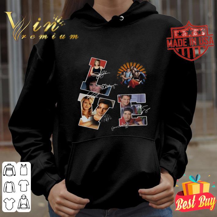 Love Friends TV Series signatures shirt