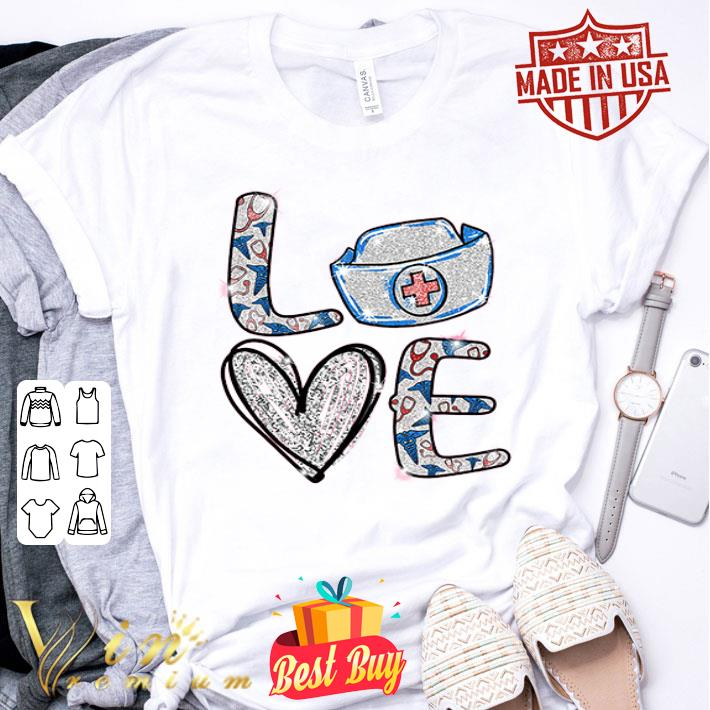 Love Nurse Bling shirt