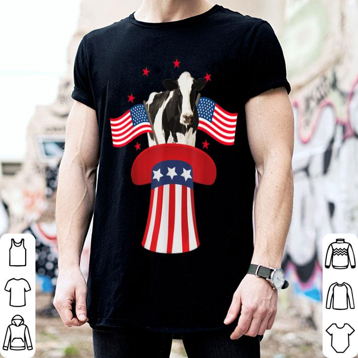 Magic Cow American Flag 4th Of July shirt