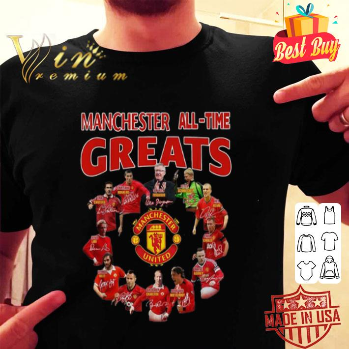 Manchester United All-Time Greats Signatures shirt