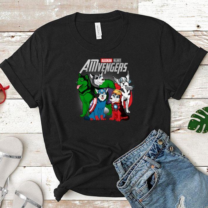 Marvel AMvengers Avengers Endgame Alaskan Malamute shirt 1