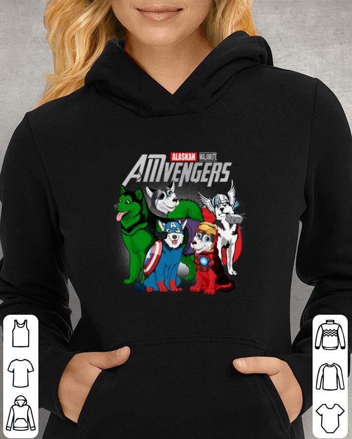 Marvel AMvengers Avengers Endgame Alaskan Malamute shirt 3