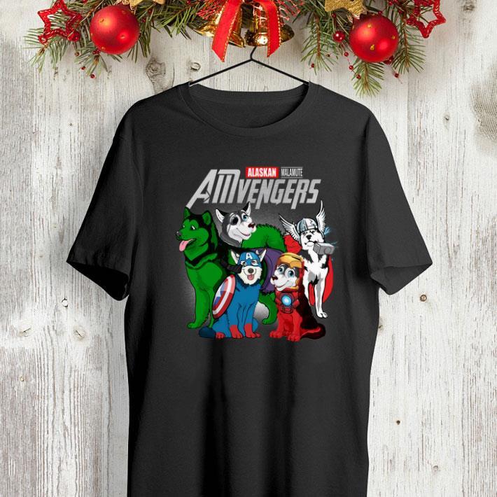 Marvel AMvengers Avengers Endgame Alaskan Malamute shirt