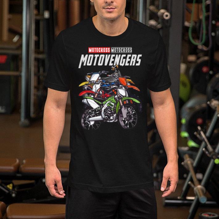 Marvel Avengers Endgame Motocross Motovengers shirt 2