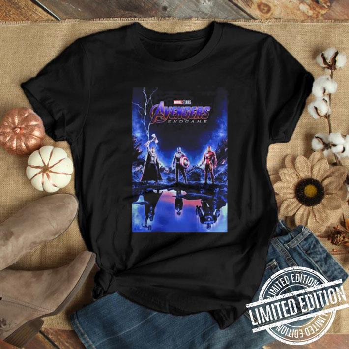 Marvel Avengers Endgame Thor Captain America and Iron man shirt