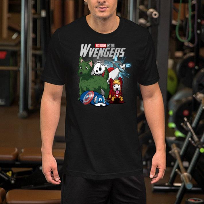 Marvel Avengers Endgame West Highland White Terrier Wvengers shirt