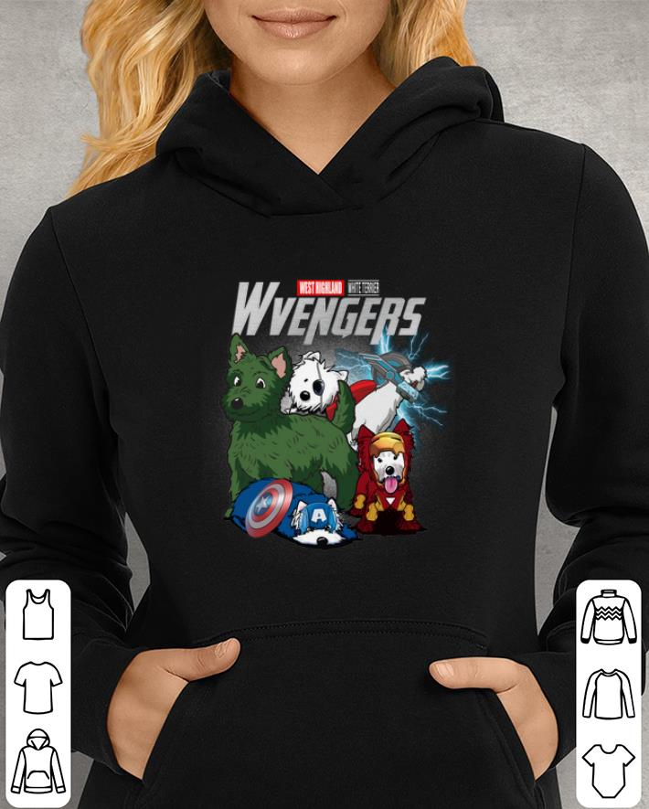 Marvel Avengers Endgame West Highland White Terrier Wvengers shirt 3