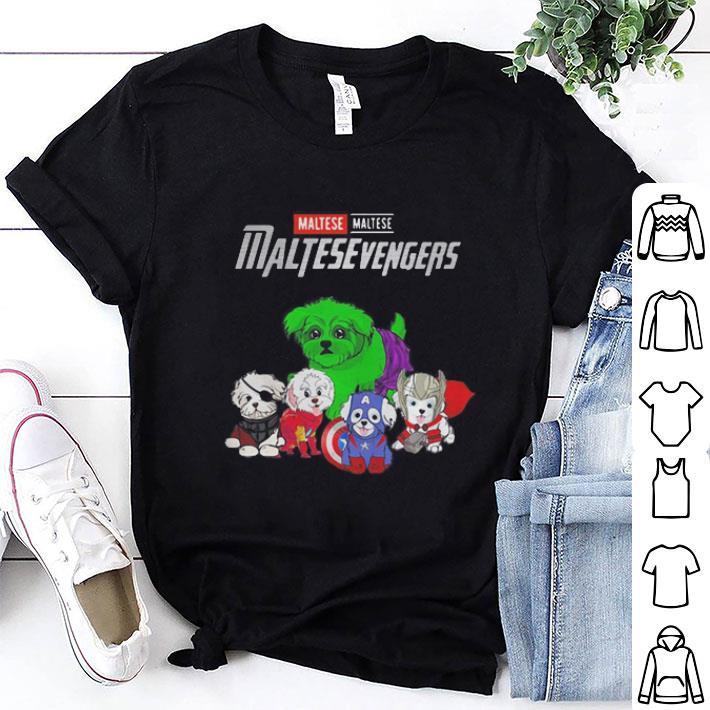 Marvel Maltesevengers Avengers Endgame Maltese shirt