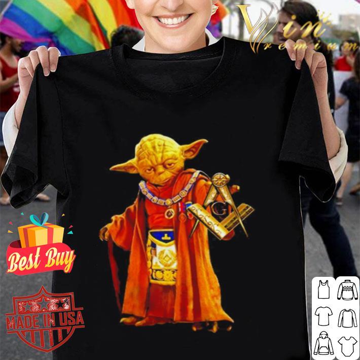Master Yoda Freemasonry 357 Star Wars shirt